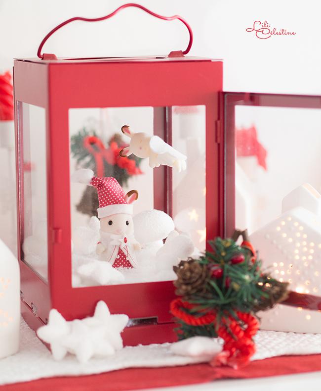 sylvanian families noel Concours Créatif de Noël des Sylvanian Families   Blog Lili Célestine sylvanian families noel