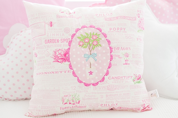 Coussin - Petunia Diary