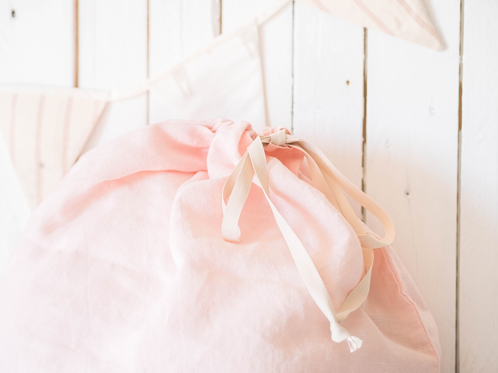 Laundry Bag - Light Pink