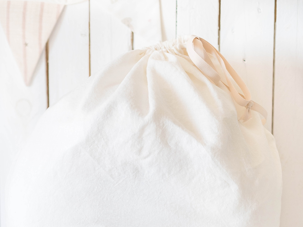 Laundry Bag - White