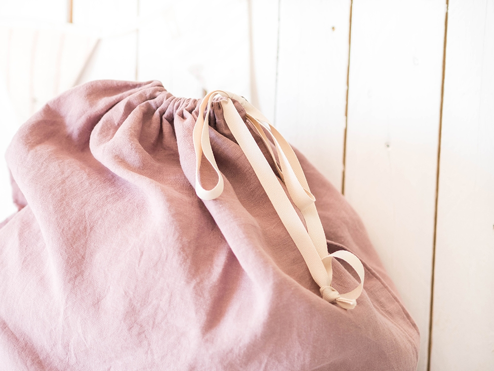 Laundry Bag - Wood Rose