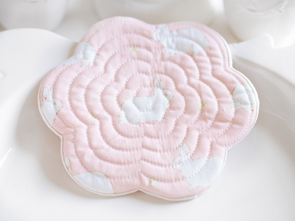 Sous tasse / mug rug - Little Princess